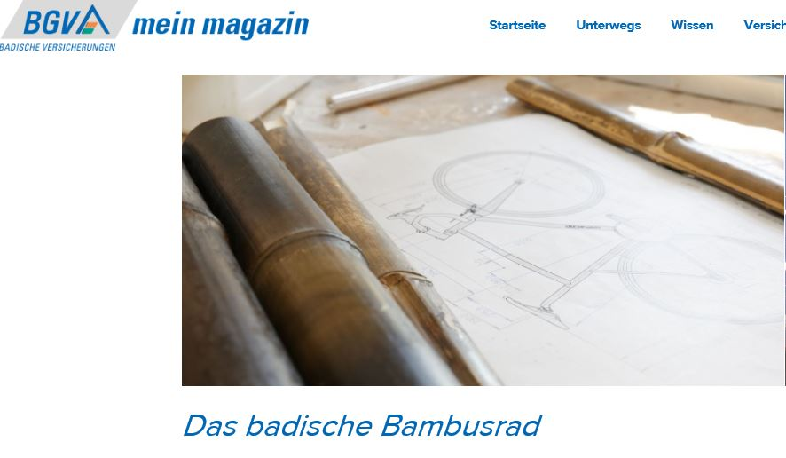 badisches-Bambusrad